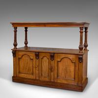 Large Antique Buffet, English, Walnut, Server, Sideboard, William IV c.1830 (11 of 12)