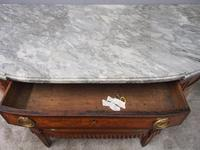 Dutch Marble Top Burr Elm Commode / Chest (11 of 13)