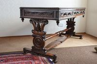 Hardwood Stretcher Table from the Late Regency Period (9 of 11)