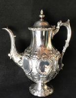 Outstanding Mid Victorian Silver Plated 4 Piece Tea Service (6 of 7)