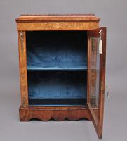 19th Century Walnut & Marquetry Pier Cabinet (2 of 11)