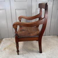 Antique Georgian Childs Mahogany Chair (5 of 10)