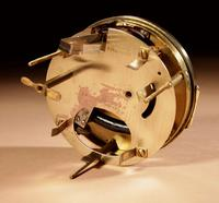Early Electrical Ato Art Deco Small Desk / Mantel Clock (4 of 8)