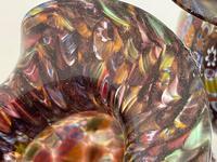 2 Beautiful Italian Murano Fratelli & Torso Millefiori Glass Vases (30 of 34)