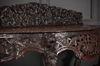 19th Century Burmese Carved Console Table (6 of 16)
