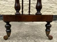 Fine 19th Century Regency Period Rosewood Veneered Occasional Writing Side Centre Table (7 of 12)