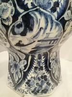Superb 18th Century Dutch Delft Vase (5 of 10)