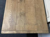 Bleached Oak Farmhouse Refectory Dining Table (10 of 22)