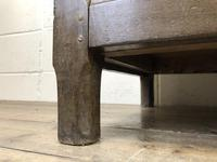 Antique 18th Century Oak Coffer with Three Panel Front (10 of 19)