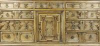 Geometric Oak Dresser Base (3 of 14)