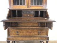 Early 20th Century Antique Oak Bureau Bookcase (9 of 16)