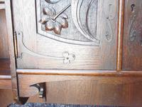 Arts and Crafts Wall Hanging Cupboard and Shelves (7 of 23)