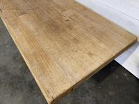 Rustic Bleached Oak Farmhouse Refectory  Table (11 of 21)