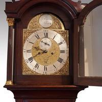 Antique Mahogany Longcase Clock (10100) (12 of 12)