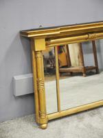 George IV Gilt and Mahogany Overmantel Mirror (4 of 8)