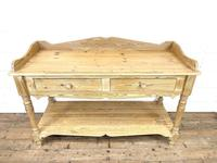 Large Rustic Pine Sideboard with Drawers (3 of 10)