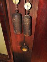 Scottish Georgian Mahogany Longcase Clock - Round Dial (8 of 10)
