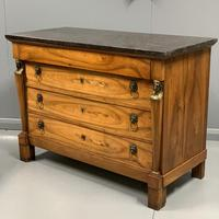 French Empire Commode with Marble Top (5 of 12)