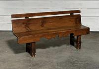 Rustic French Hall Bench (4 of 23)