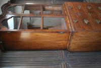 George I Walnut Double Dome Bookcase on Chest (6 of 10)