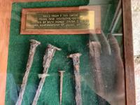 Rare Find in 1958 - Roman Nails C80ad Found in North of England (2 of 3)