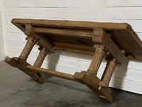 Extremely Rare Large Oak Refectory Table (32 of 35)