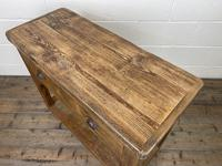 Reclaimed Wooden Sideboard with Two Drawers (8 of 10)