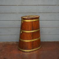 Original 18th Century Ships Salted Beef Barrel