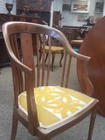 Edwardian Inlaid Tub Chair (3 of 7)
