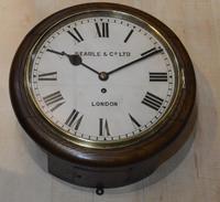 Searle & Co London Fusee Dial Wall Clock