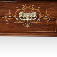 Edwardian Inlaid Rosewood Desk (5 of 11)