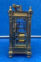 Victorian Gilt Brass  Charles Frodsham Carriage Clock (8 of 11)