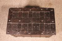 Nuremberg Chest or Pirate Chest 17th Century in Wrought Iron (6 of 12)