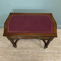 Quality Walnut Maple & Co Antique Writing Table (5 of 7)