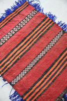 Afghan Red Saddle Bag Cushion Cover (6 of 9)