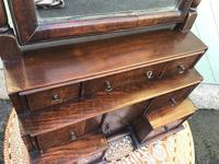 Antique Queen Anne Style Walnut Dressing Table Mirror (6 of 9)