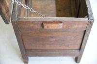 Antique 18th Century Oak Coffer (7 of 12)