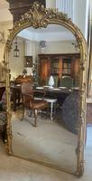 Very Large Arched Mirror with Scrolling Flowers (8 of 9)
