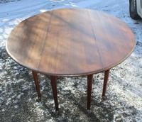 1900s Mahogany Wakes Table with Pad Feet (5 of 5)