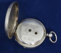 Antique Silver Pocket Watch Keyless Wind Open Face Pocket Watch Kay & Comp (10 of 10)