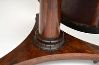 Antique William IV  Rosewood  Leather Top Drum, Dining or Centre Table (5 of 11)
