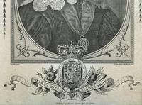 Rare Set of 12 Original 18th Century Engraving's of Kings & Queens of England (17 of 18)