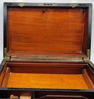 Antique 19th Century Miller Bristol & Clifton Military Writing Slope (8 of 10)