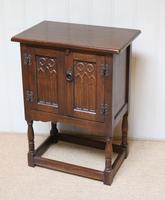Oak Side Cabinet (8 of 9)