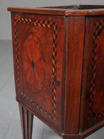 Antique Dutch Small Inlaid Mahogany Jardiniere (14 of 15)
