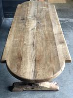 19th Century Rustic Oak Farmhouse Dining Table (22 of 23)
