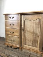 Victorian Antique Pine Sideboard with Drawers (12 of 13)