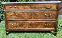 Matched Pair of 18th Century Mahogany Commodes (3 of 11)