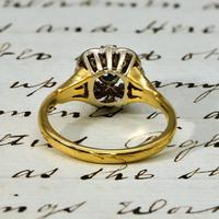 The Vintage Art Deco Style Sapphire & Diamond Ring (4 of 4)