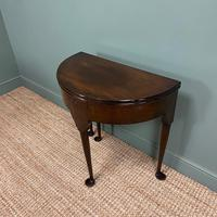 Edwardian Walnut Antique Tea Table (2 of 6)